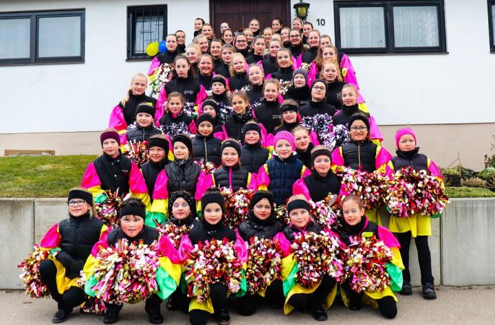 2019_Fasnet_Cheerleader_Gruppenbild