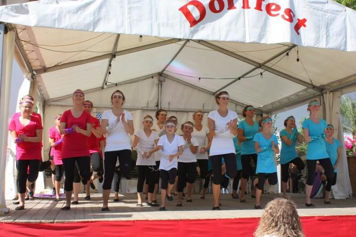 Gemeinschaftstanz Dorffest Rot a.d. Rot
