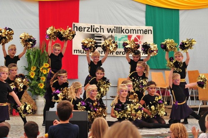 Auftritt Heimatfest 2017